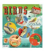 birds set de imanes :: #