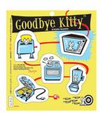 Goodbye Kitty set de imanes :: #