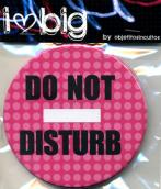 do not disturb :: #